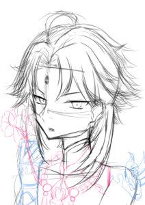 【原神】魈 挿絵 SNSアイコン 男の子